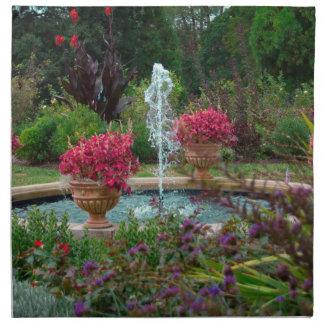 Garten-Brunnen Stoffserviette