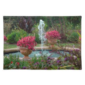 Garten-Brunnen Tischset