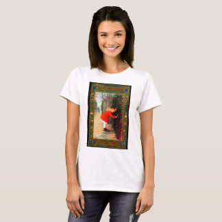 Garten-Bucheinband T-Shirt