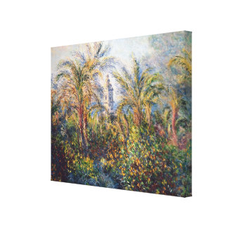 Garten Claude Monets | in Bordighera Leinwanddruck