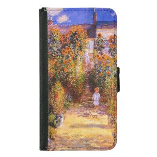 Garten Claudes Monet-Monets bei Vétheuil Geldbeutel Hülle Für Das Samsung Galaxy S5