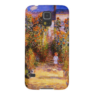 Garten Claudes Monet-Monets bei Vétheuil Samsung S5 Hülle
