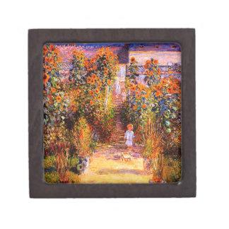 Garten Claudes Monet-Monets bei Vétheuil Schmuckkiste