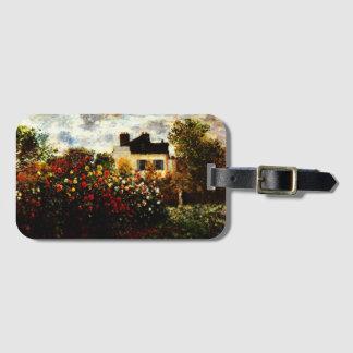 Garten Claudes Monet-Monets in Argenteuil Gepäckanhänger