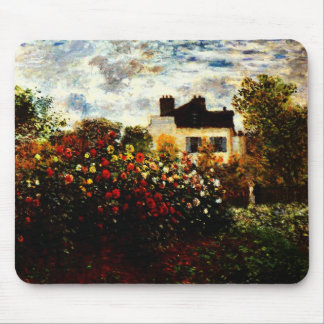 Garten Claudes Monet-Monets in Argenteuil Mousepad