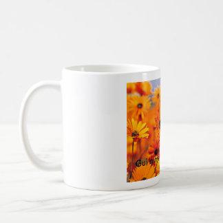 Garten - Copie, GUI aime les fleurs Kaffeetasse