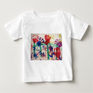 Garten das handprint der Kinder Baby T-shirt