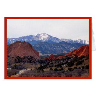Garten der Götter (Colorado) Karte