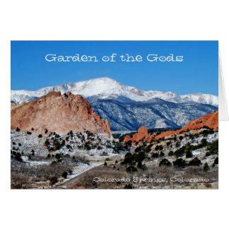 Garten der Götter Notecard Karte
