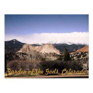 Garten der Götter Postkarte