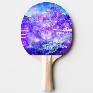 Garten der Ruhe Tischtennis Schläger