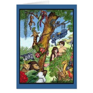 Garten Eden - besonders angefertigt Karte