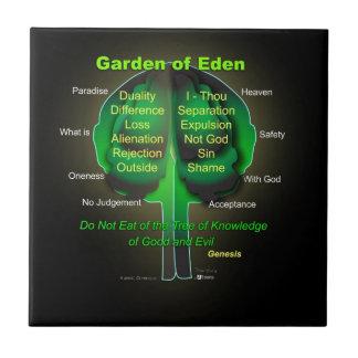 Garten Eden Keramikfliese