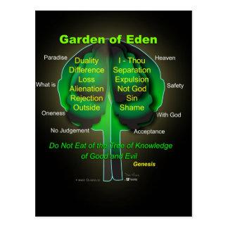 Garten Eden Postkarte