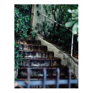 Garten-Eingang Postkarte