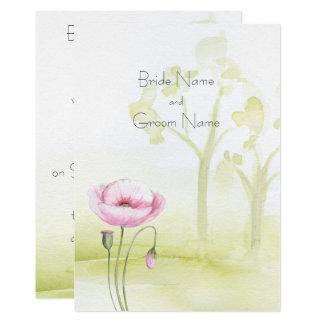 Garten-Einladung Karte