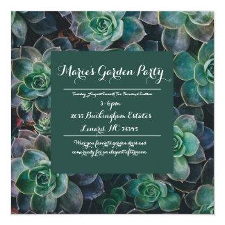 Garten-Einladung Quadratische 13,3 Cm Einladungskarte
