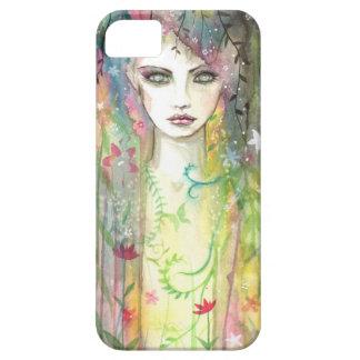 Garten-Feen-Pop-Kunst-moderne Barely There iPhone 5 Hülle