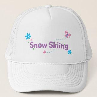 Garten-Flattern-Schnee-Skifahren Truckerkappe
