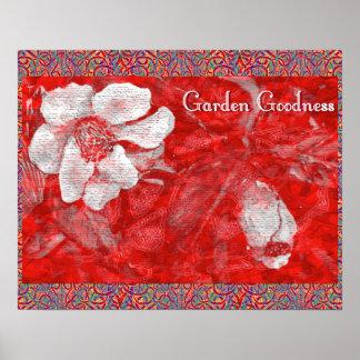 Garten-Güte Poster