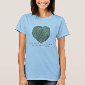 Garten heart0001, ist das Lächeln… ist das laught… T-Shirt