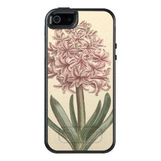 Garten-Hyazinthen-botanische Illustration OtterBox iPhone 5/5s/SE Hülle