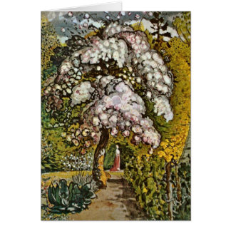 Garten in Shoreham durch Samuel Palmer Karte