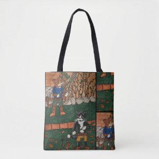 Garten-Katzen Tasche