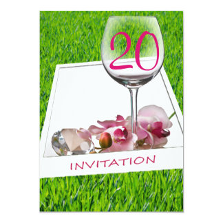 Garten-Party-Geburtstags-Feier-Einladung 12,7 X 17,8 Cm Einladungskarte