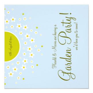 Garten-Party! Quadratische 13,3 Cm Einladungskarte