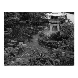 Garten Postkarte