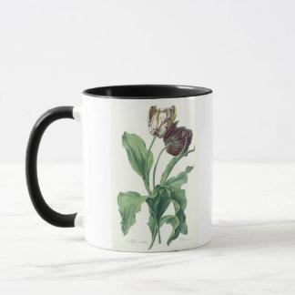 """Garten-Tulpe, """"von der Oper Botanica"""", graviert Tasse"""