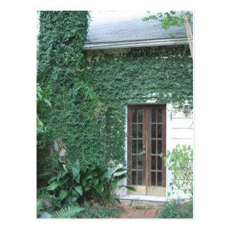 Garten-Tür ©2008 Postkarte