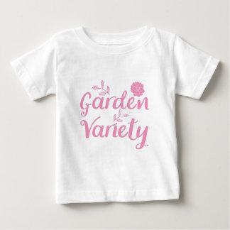 Garten - Vielzahl im Rosa mit Blumen Baby T-shirt