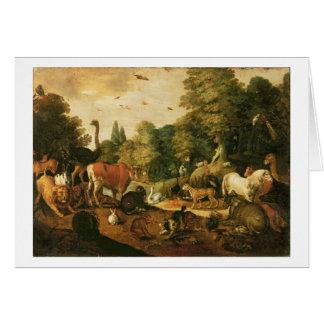 Garten von Eden (Öl auf Leinwand) Karte