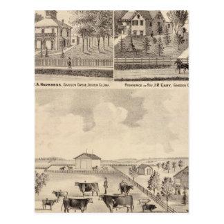 Garten-Waldungs-Herde, Pryor Postkarte