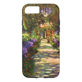 Garten-Weg durch Claude Monet iPhone 8/7 Hülle