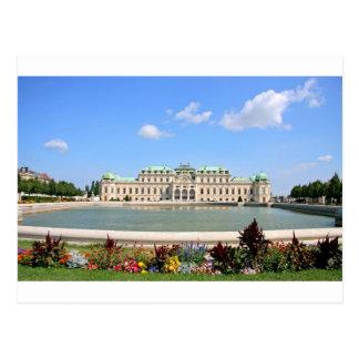 Gärten Wiens BelPalace Postkarte