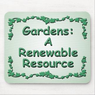 Gartenarbeit: Eine erneuerbare Ressource Mousepads
