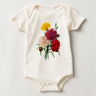 Gartennelken-und Ringelblumen-Blumenstrauß durch Baby Strampler