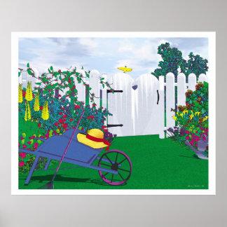 Gartentor Poster