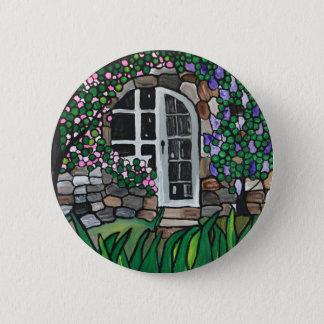 Gartentür Runder Button 5,7 Cm