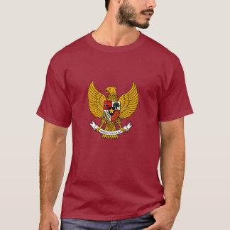 garuda pancasila Shirt - Kastanienbraun