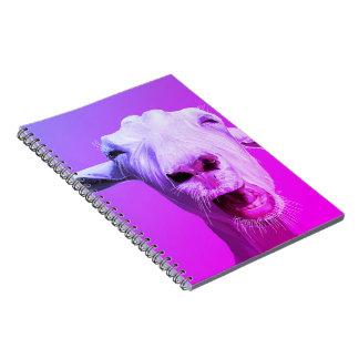 Gary das Ziegen-Notizbuch Spiral Notizblock