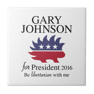 Gary Johnson 2016 Fliese