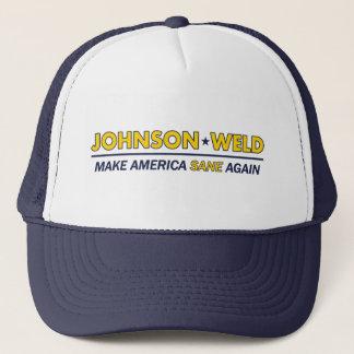 Gary Johnson/Schweißungs-gesunder Truckerkappe