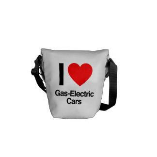 Gas-elektrische Autos der Liebe I Kuriertasche