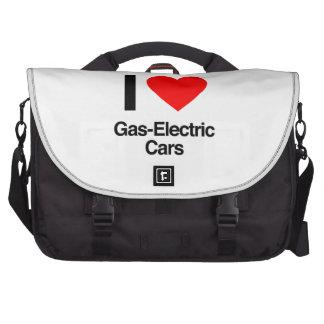 Gas-elektrische Autos der Liebe I Laptoptasche