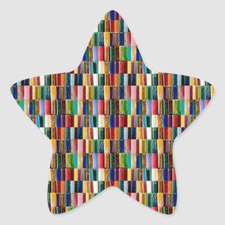 Gas-Feuerzeug-Muschel-kreative abstrakte Stern-Aufkleber