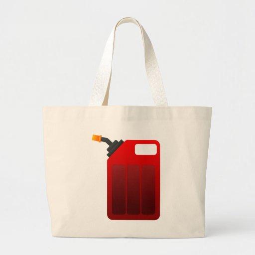 Gas kann einkaufstaschen